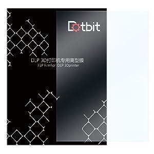 CHPOWER FEP Film Sheet, High Transmittance Strength for UV 3D Printer Wanhao D7 DLP Photon LCD SLA Resin, 200x 140mm Thickness 0.10mm- Pack of 5