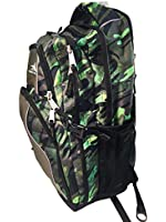 High Sierra Swerve Backpack (Camo/Green)