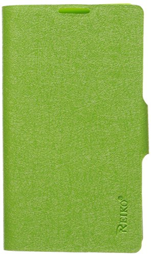 Reiko Wireless Fitting Case with Clip for Lg Optimus L9/4G P769 - Green (Lg L9 Case With Clip)