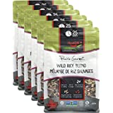 Floating Leaf - Wild Rice Blend with Rice Berry, Red Rice + Brown Rices - Case of 6 x 400g - Gluten Free, Kosher, Non GMO + Vegan