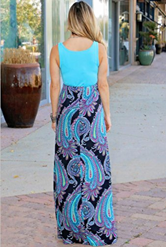 Kleid Sommerkleider Bodenlange Maxi Lange Lang Strandkleider 0nwNOPkX8Z