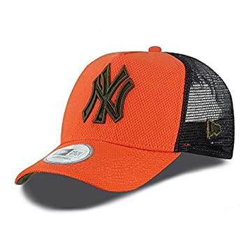 3620b69e28a0b0 New Era MLB NEW YORK YANKEES Diamond Camo 9FORTY A-Frame Cap: Amazon.co.uk:  Sports & Outdoors