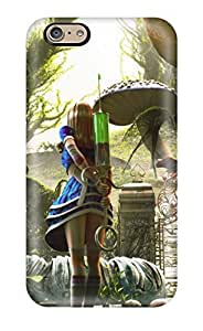 First-class Case Cover For Iphone 6 Dual Protection Cover Alice In Wonderland