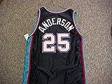 Nick Anderson Memphis Grizzlies Black Game Jersey