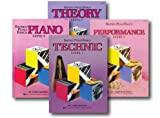 Bastien Piano Basics Level 1 - Learn to Play Four Book Set - Includes Level 1 Piano, Theory, Technic, and Performance Books