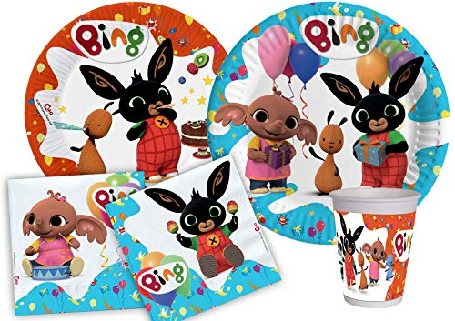 Kit de fiesta Bing S (8 persone) multicolor