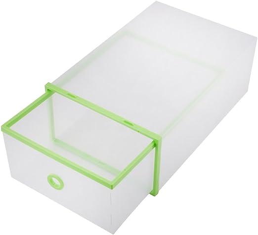 Plástico Transparente de yosoo Zapatos Caja Buzón Caja Botas ...
