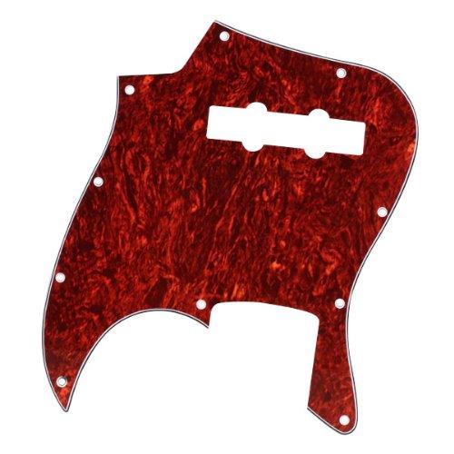 Concha Roja Pickguard De 3 Capas Para El Jazz Bass Guitar J: Amazon.es: Instrumentos musicales