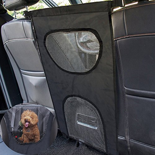 Dog Barrier Back Seat Pet Front Seat- for Car Trucks Sedans Travel Automobile Protectors