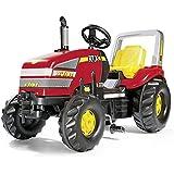 Rolly Toys 03 555 7 Rollyx-trac - Tractor con pedales, color rojo y