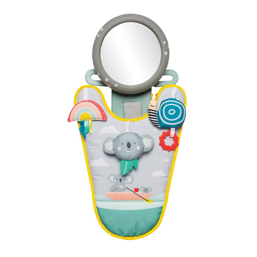 Taf Toys Koala In-Car Play Center   Parent and Baby's Travel Companion, Keeps Both Relaxed While Driving. Car Activity Center with Mirror to Watch Baby from Driver's Seat, for 0 months and up