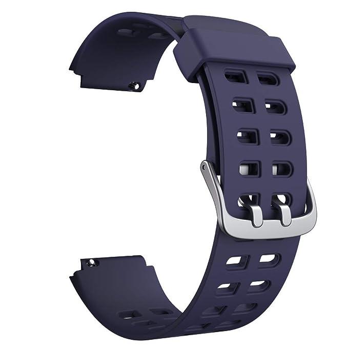 Correa de Silicona Suave para Reloj Inteligente (23 mm) para ...