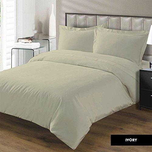 Cheap Duvet Cover with Zipper Closure Premium Range Egyptian Cotton 600 Thread Count By Kotton Cultu...