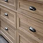 Sauder County Line Dresser, Salt Oak finish