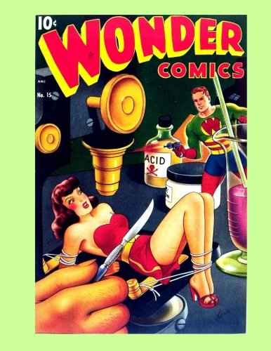 Read Online Wonder Comics #15: Exciting Golden Age Adventures! All Stories - No Ads ebook