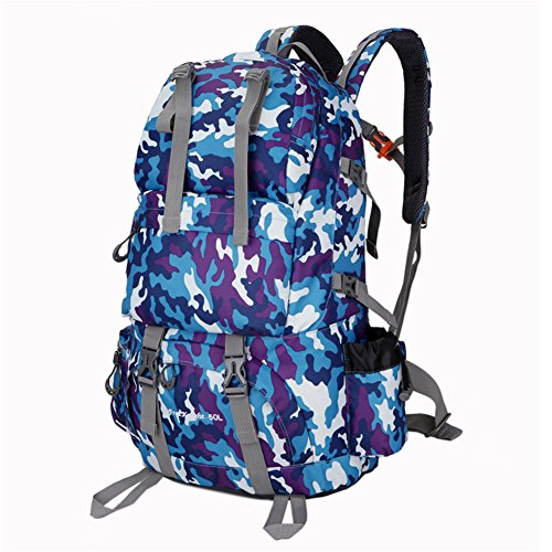 FTSUCQ Mens/Womens Nylon Backpack Travel Daypack School Bags Shoulder Satchels - Beach At The Outlets Vero