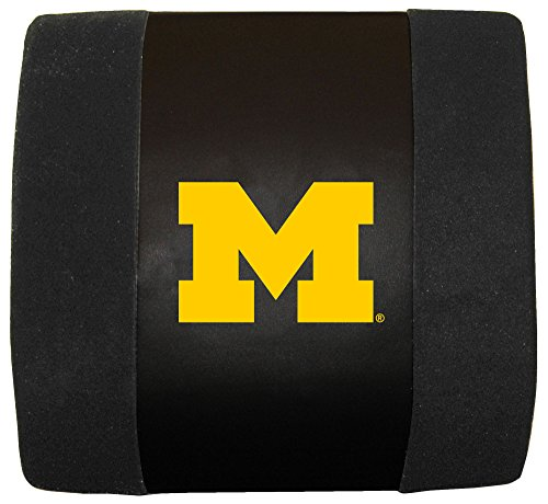 Fremont Die NCAA Michigan Wolverines Lumbar Cushion, Black, One Size ()