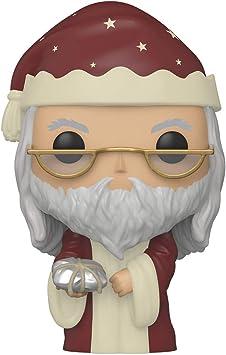 Funko- Pop Harry Potter: Holiday-Albus Dumbledore S11 Figura Coleccionable, Multicolor (51155)