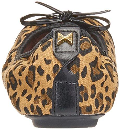 Leopard Tan Twists Butterfly Olivia Pumps Bzw7URUxq