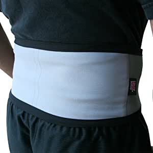 Heat Factory Heated Back Wrap for use with Heat Factory Hand & Body Warmers, Grey, Large