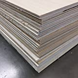 3MM Baltic Birch Plywood - 8.5'' x 11'' sheets - perfect for Laser Engraving or Crafting