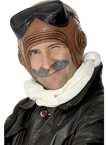 Adult Latex Vintage Fighter Pilot Costume - Vintage Costume Pilot