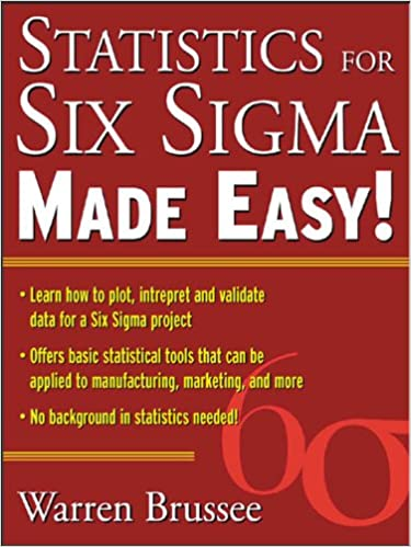 Statistics for six sigma made easy warren brussee ebook amazon fandeluxe Choice Image