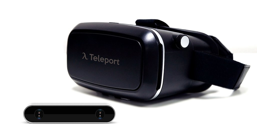 Autonomous Teleport Virtual Reality Kit (Includes: Teleport VR Camera and Teleport VR Headset, Black)