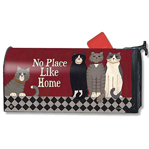 MailWraps Kitties at Home MailWrap Mailbox Cover 01397 Cat Mailbox Covers