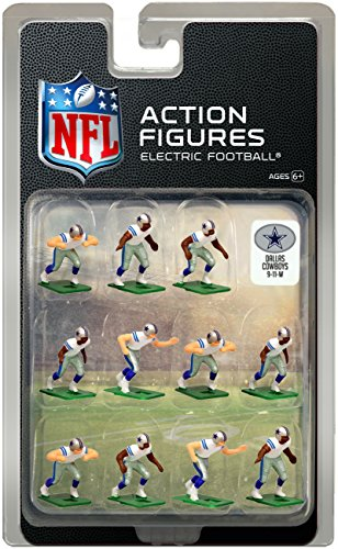Cowboys Away Jersey - Dallas Cowboys Away Jersey NFL Action Figure Set