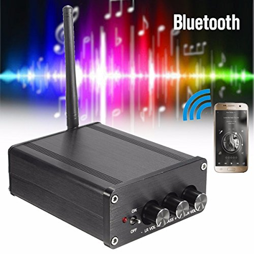 ... Wireless CSR4.0 Class D Digital Mini TPA3116 2.1 CRS Wireless Module Digital Stereo Amplifier Board 250W+100W HIFI Amplificador: Home Audio & Theater