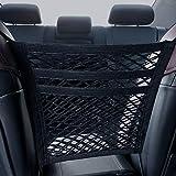 HOUSE DAY Car Mesh Organizer 3-Layer Seat BackNet