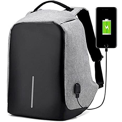 0d2d64fa2e43 MK Laptop Bag, Business Bagpack with USB Charging Slot: Amazon.in:  Electronics