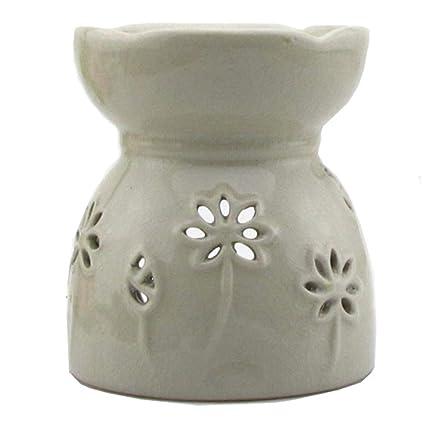 Amazon.com: Better-way Home Decorative Lotus Flower Ceramic ...