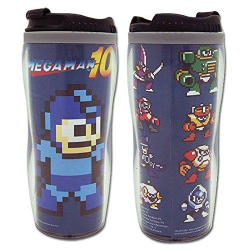 Mega Man 10 Travel Coffee Mug Megaman Bosses Tumbler