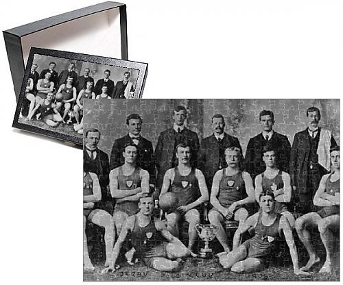 Swimming Costumes Edwardian (Photo Jigsaw Puzzle of Derby Water Polo)