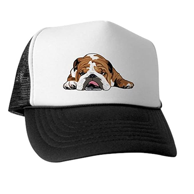 Amazon.com  CafePress - Teddy the English Bulldog Trucker Hat - Trucker Hat 9547f461354