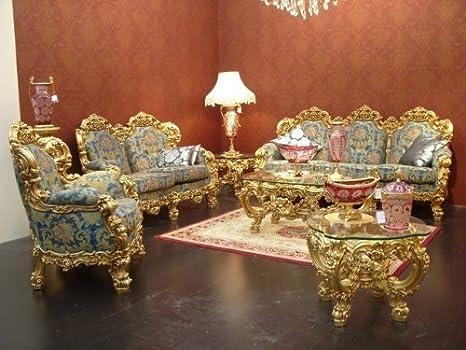 LouisXV Barroco Salón Sofá 2er 3er vector de la silla Vp0890 ...