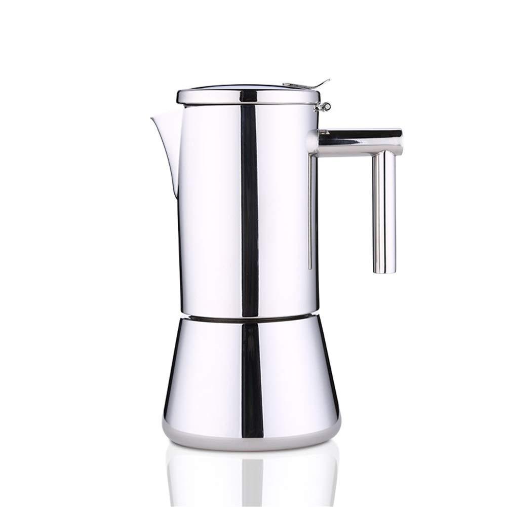Cafetera Italiana Moka Pot Mocha Coffee Pot Café de Acero ...