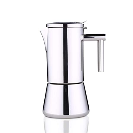 Cafetera Italiana Moka Pot Mocha Coffee Pot Café de Acero ...