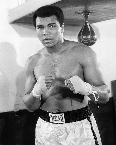Moviestore Muhammad Ali 25x20cm Schwarzweiß-Foto