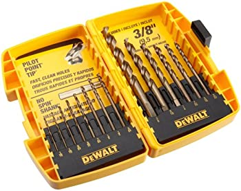 Dewalt 14-Pk. Gold Ferrous Twist Drill Bit Set