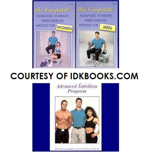 Method 2 Video Set Vhs (FRANK CAMPITELLI 2-VHS BOX SET: The Campitelli Advanced 10-Minute Speed Exercise Method For Women And For Men **PLUS FREE PAPERBACK: The Campitelli Advanced Nutrition Program by Frank Campitelli and Chef)