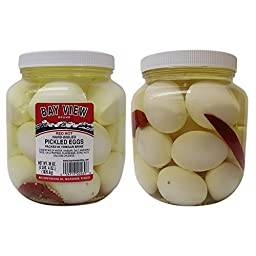 Red Hot Gourmet Pickled Eggs - 2 jars