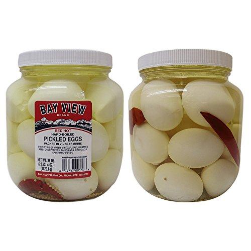 Pickled Gourmet (Red Hot Gourmet Pickled Eggs - 2 jars)