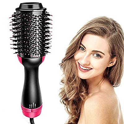 4 in 1 air hair dryer styling curler straightener brush and volumizer one step 2 in 1