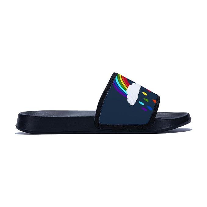 Feisette Slide Sandals for Boys Girls Comfortable Anti-Slip Shower Slippers Little Kid//Big Kid