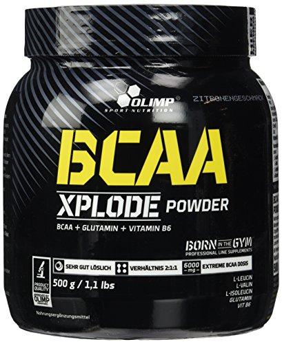 Olimp BCAA XPlode , Zitrone, 500 g