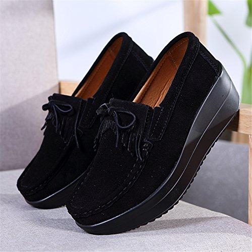black Damen HKR Black Mokassins sole 6v67Sfn