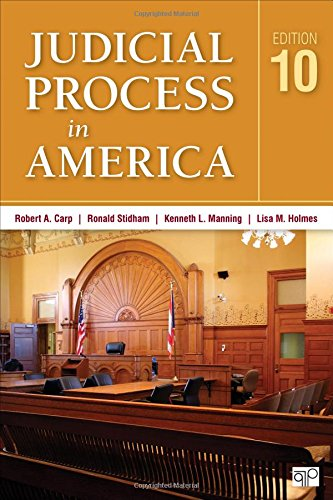 148337825X - Judicial Process in America (Tenth Edition)